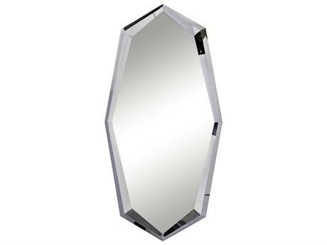 ET2 Boulder Polished Chrome Floor Mirror