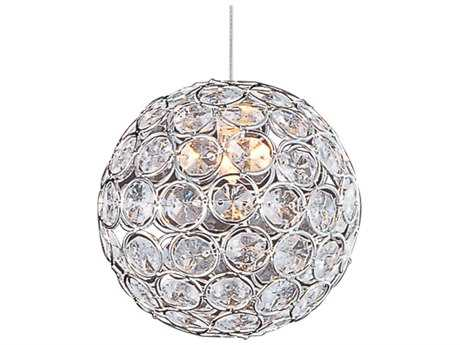 ET2 Brilliant Polished Chrome 5'' Wide Rapi Jack Mini-Pendant Light ET2EP9607720PC