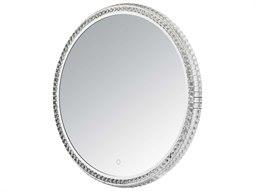 Crystal Mirror Wall