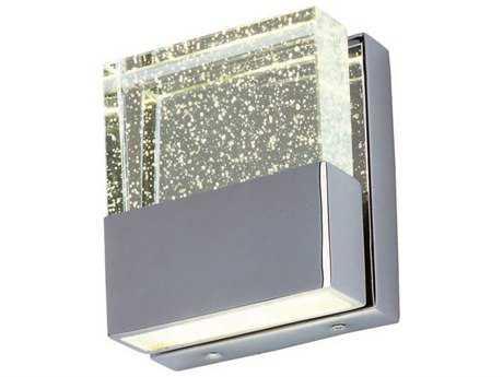 ET2 Fizz III Polished Chrome Two-Light Wall Sconce