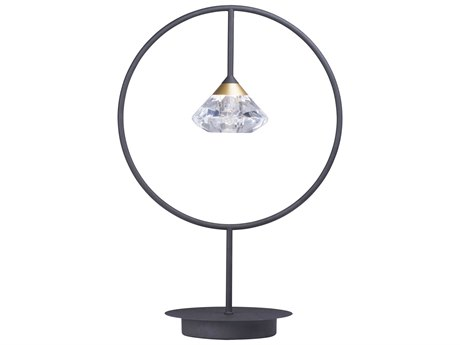 ET2 Hope Black / Metallic Gold 14'' Wide Table Lamp ET2E2480875BKMG