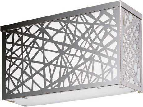 ET2 Inca LED Polished Chrome Four-Light Outdoor Wall Light ET2E2133661PC