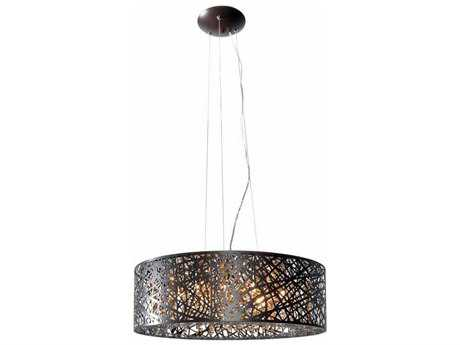 ET2 Inca Bronze Nine-Light 23.5'' Wide Xenon Pendant Light (Bulb Not Included) ET2E2130810BZ