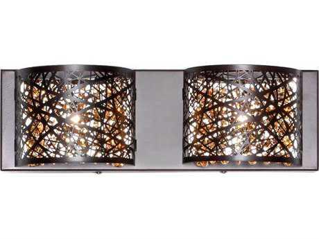 ET2 Inca Bronze Two-Light Vanity Light ET2E2131510BZ