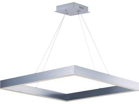 ET2 Metallika Brushed Aluminum 32'' Wide LED Pendant Light