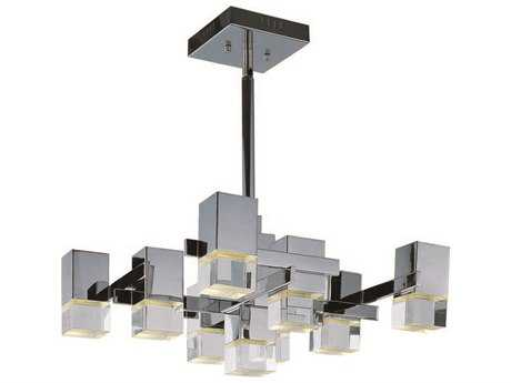 ET2 Nova LED Polished Chrome Nine-Light Pendant ET2E3120675PC