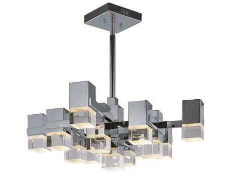 ET2 Nova LED Polished Chrome 13-Light Pendant ET2E3120775PC