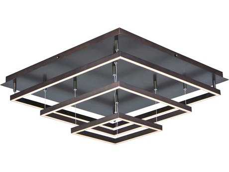 ET2 Quad Bronze 12-Light Semi-Flush Mount Light ET2E22408BZ