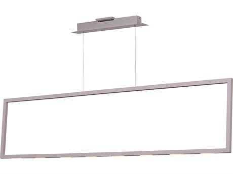 ET2 Lighting Rhombus Matte White 55'' Long LED Island Light ET2E22866MW