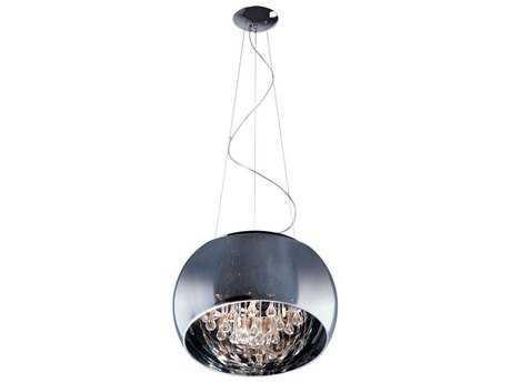 ET2 Sense Polished Chrome Five-Light Pendant