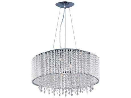 ET2 Spiral Polished Chrome Ten-Light Pendant ET2E2313710PC