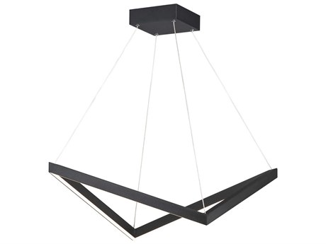 ET2 Stealth Black 21'' Wide LED Pendant ET2E30574BK