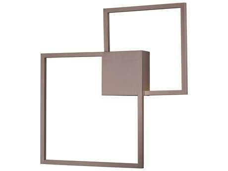 ET2 Traverse Champagne Two-Light 29'' Wide LED Wall Sconce ET2E21510CHP