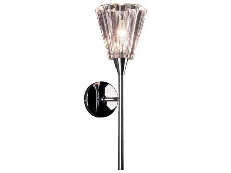 ET2 Visione Polished Chrome Wall Sconce ET2E2019119