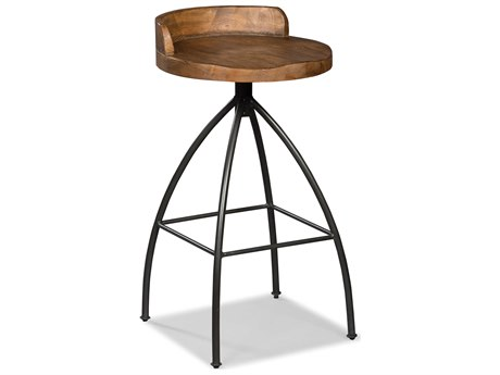 Fairfield Chair Boone Forge Side Swivel Bar Height Stool FFC810407