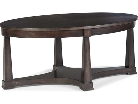 Fairfield Chair Revelation 44'' Wide Oval Coffee Table