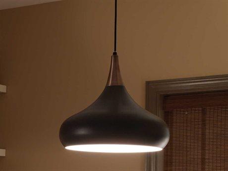 Feiss Belle Dark Bronze Pendant Light FEIF27061DBZ