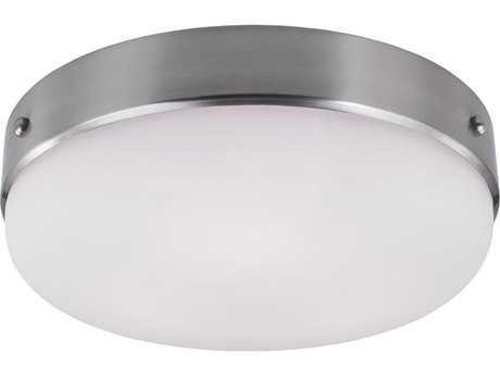 Feiss Cadence Brushed Steel Three-Light Flush Mount Light FEIFM391BS