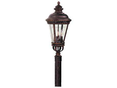 Feiss Castle Grecian Bronze Four-Light Outdoor Post Light FEIOL1908GBZ
