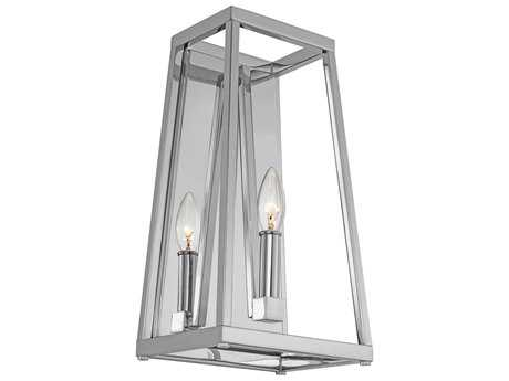 Feiss Conant Chrome One-Light 8'' Wide Wall Sconce