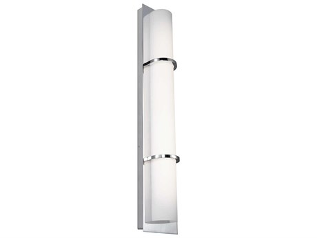 Feiss Cynder Chrome One-Light 5.25'' Wide LED Wall Sconce FEIWB1852CHL1