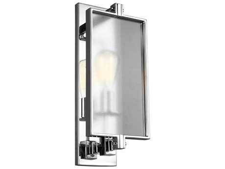 Feiss Dailey Chrome One-Light 7'' Wide Edison Wall Sconce FEIWB1843CH
