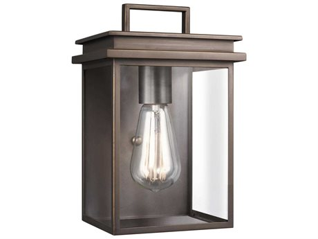 Feiss Glenview Antique Bronze One-Light 6.5'' Wide Edison Outdoor Wall Latern