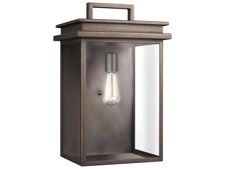 Feiss Glenview Antique Bronze One-Light 11.25'' Wide Edison Outdoor Wall Latern