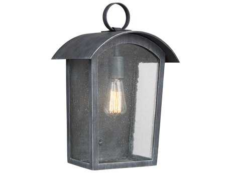 Feiss Hodges Ash Black One-Light 10.75'' Wide Edison Outdoor Wall Latern