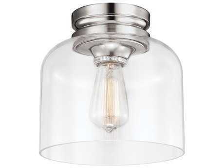 Feiss Hounslow Polished Nickel Flush Mount Light FEIFM404PN