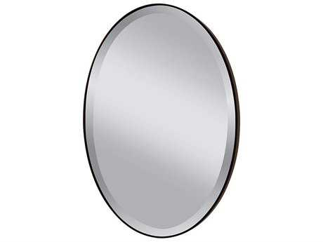 Feiss Johnson 24 x 36 Oil Rubbed Bronze Wall Mirror FEIMR1126ORB