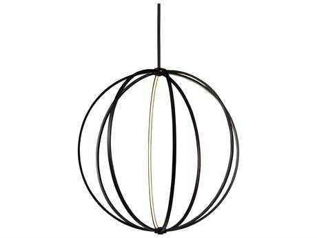 Feiss Khloe Oil Rubbed Bronze 48'' Wide LED Pendant Light FEIP1412ORB