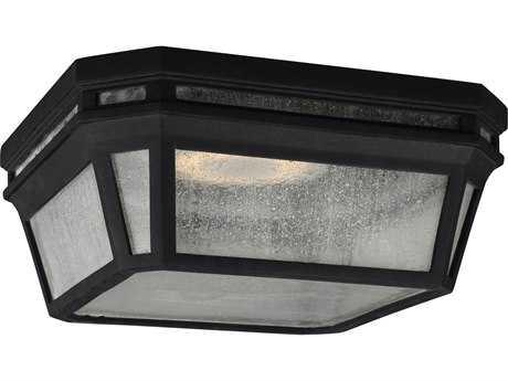 Feiss Londontowne Black 2700K / 1760 Lumen LED Outdoor Flush Mount Light FEIOL11313BKLED