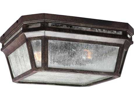 Feiss Londontowne Weathered Chestnut Two-Light Outdoor Ceiling Light FEIOL11313WCT