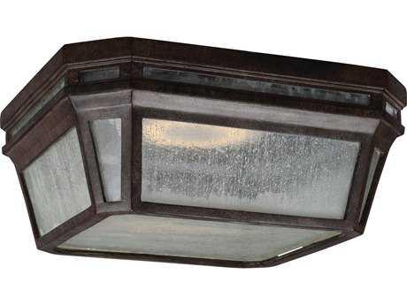 Feiss Londontowne Weathered Chestnut 2700K / 1760 Lumen LED Outdoor Flush Mount Light FEIOL11313WCTLED