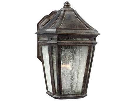 Feiss Londontowne Weathered Chestnut Outdoor Wall Light