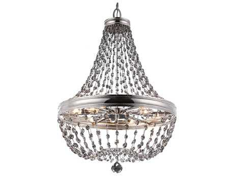 Feiss Malia Polished Nickel 36'' Wide 12-Light Grand Chandelier