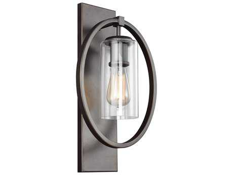 Feiss Marlena Antique Bronze One-Light 10.5'' Wide Edison Wall Sconce