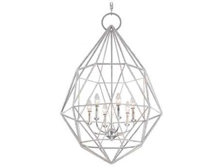 Feiss Marquise Silver 24.5'' Wide Six-Light Chandelier