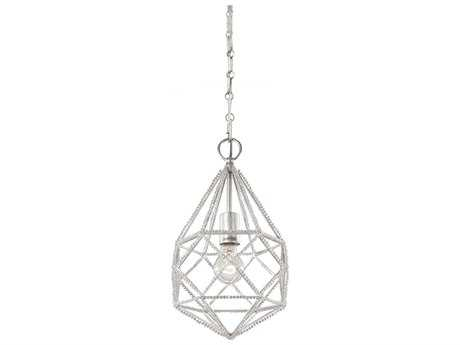 Feiss Marquise Silver 9.63'' Wide Edison Bulb Pendant Light