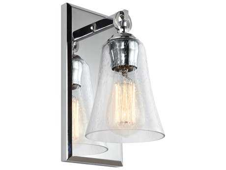 Feiss Monterro Chrome 5'' Wide Edison Wall Sconce FEIVS24701CH