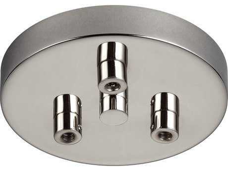 Feiss Polished Nickel 0 5'' Wide Multi-Port Canopy FEIMPC03PN