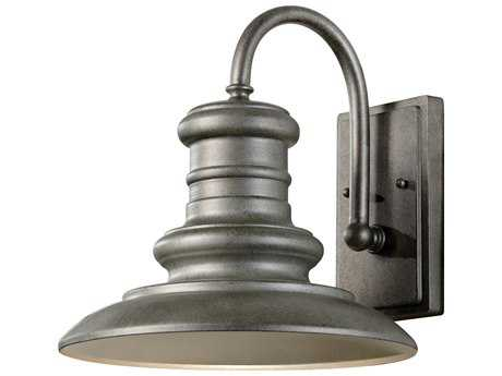 Feiss Redding Station Tarnished 12'' Wide Edison Bulb Outdoor Wall Sconce