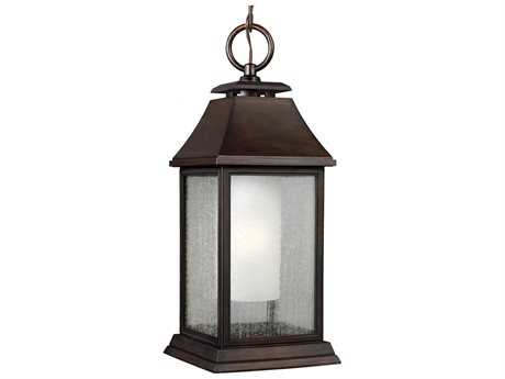 Feiss Shepherd Heritage Copper Outdoor Pendant Light