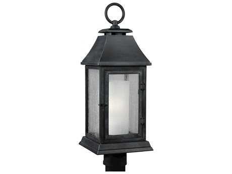 Feiss Shepherd Dark Weathered Zinc Outdoor Post Light FEIOL10608DWZ