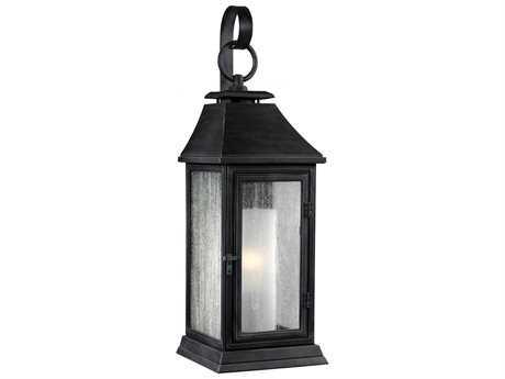 Feiss Shepherd Dark Weathered Zinc Outdoor Wall Light FEIOL10600DWZ