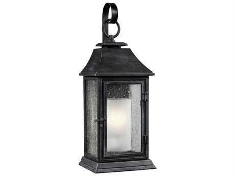 Feiss Shepherd Dark Weathered Zinc Outdoor Wall Light FEIOL10602DWZ