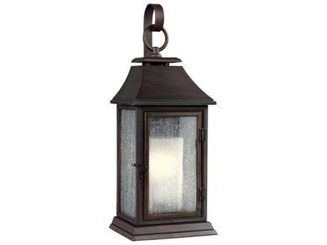 Feiss Shepherd Heritage Copper Outdoor Wall Light