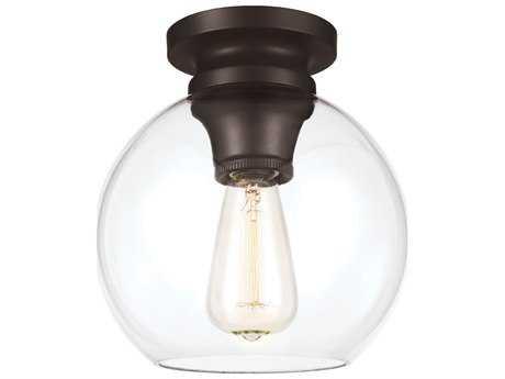 Feiss Tabby Oil Rubbed Bronze Flush Mount Light FEIFM403ORB