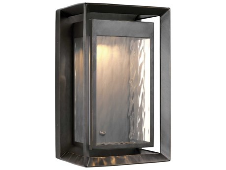 Feiss Urbandale Antique Bronze One-Light 10'' Wide LED Outdoor Wall Latern FEIOL13702ANBZL1